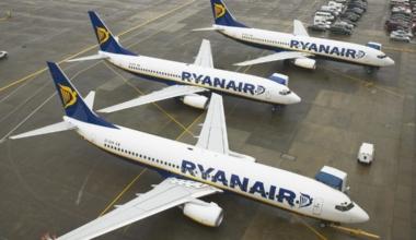 3 Aircraft on Apron