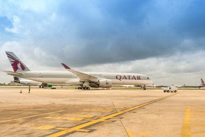 Qatar Airways A350K