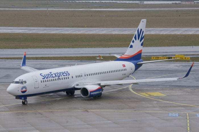 Sun Express Boeing 737