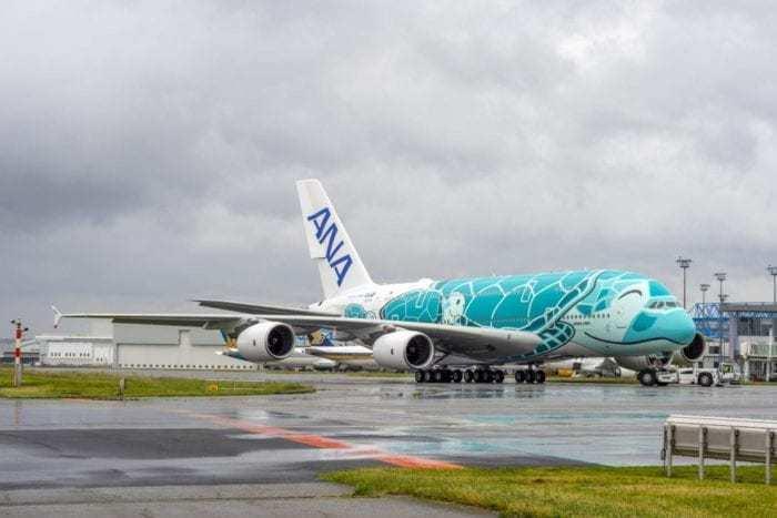ANA Green A380