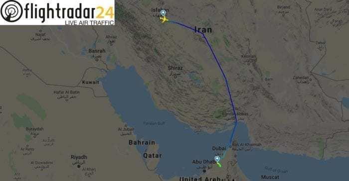 AF218 onwards journey