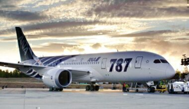 First 787 Delivery to ANAK65443-11