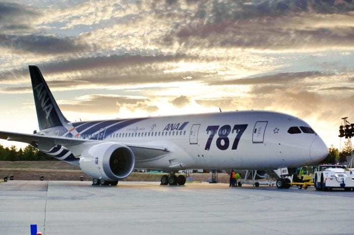 ANA Boeing 787 Dreamliner Diverts To Russia Following Engine Problems