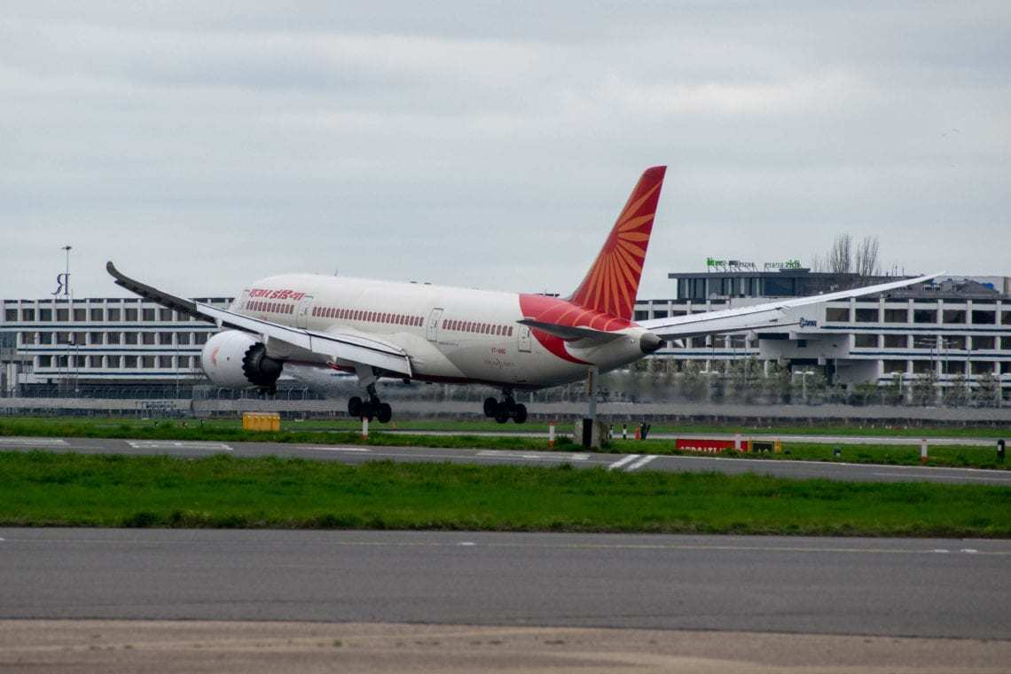 Air India grounded Boeing 787