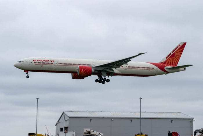 Air India Grounded Boeing 777 fleet