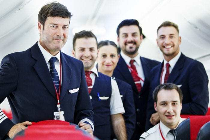 Norwegian Air cabin crew