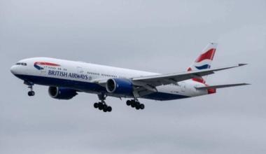 British Airways Turbulence