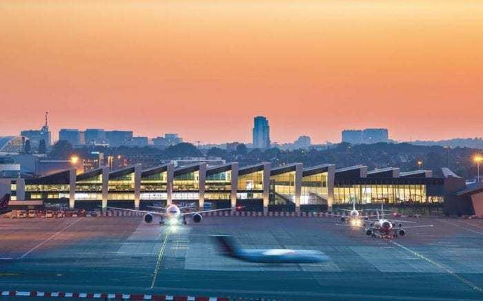 brussels-airport-sundown