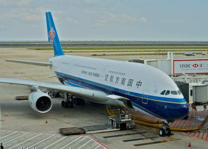 China Southern A380 Hail