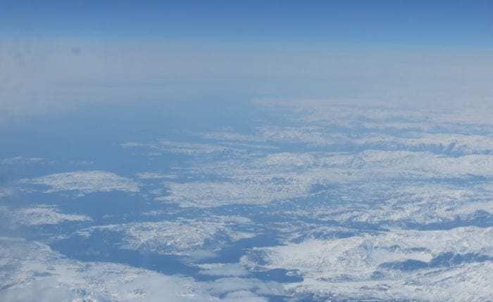 oast off Paamiut Greenland