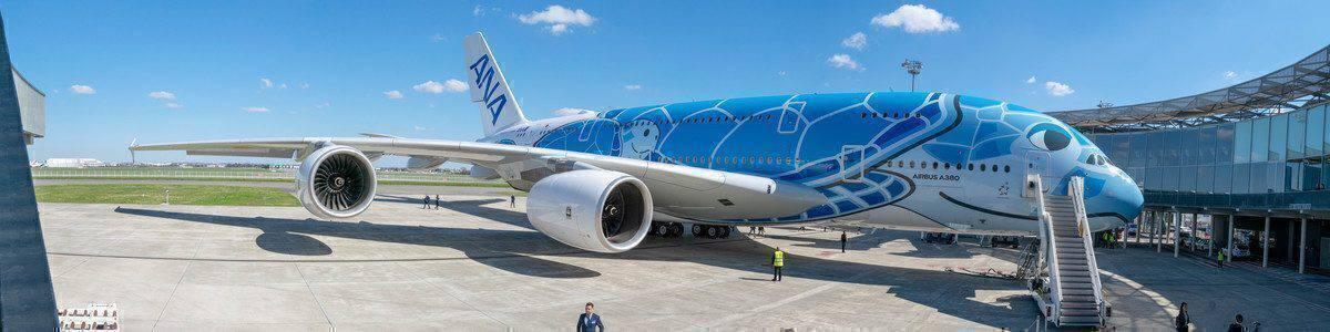 ANA Blue A380