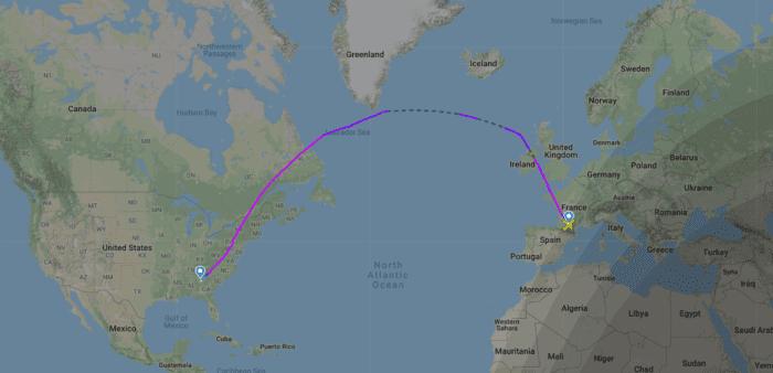 Delta A330neo delivery flight