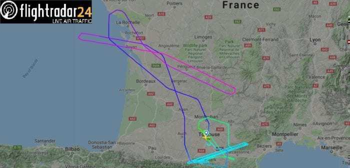 First Delta Airbus A330neo Completes Test Flight - Simple ...