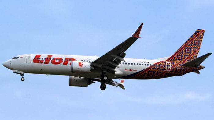 $20m Cost To Grounding Lion Air Boeing 737 MAX Fleet
