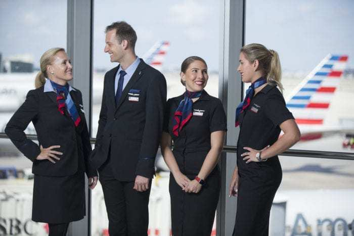 American Airlines Crew