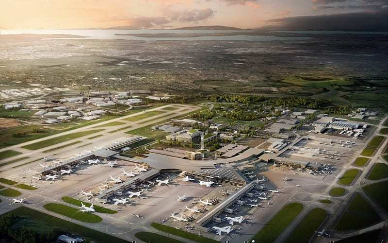 Auckland Airport Expanding To Deal With Large Planes Such As The 777X