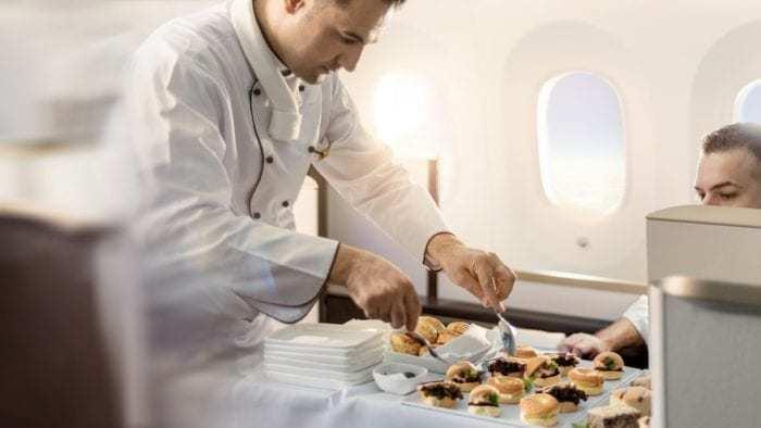 Gulf air sky chef