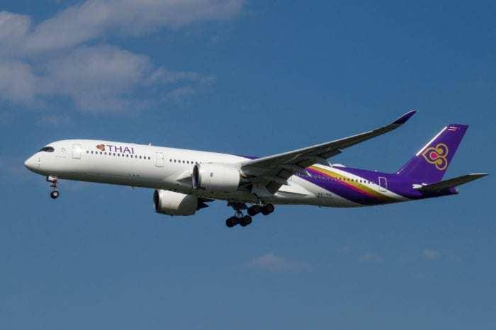Thai Airbus A350-900 Wake Turbulence