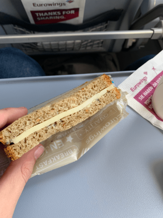 London to cologne Cheese Sandwich