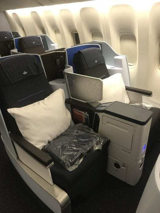 Eating Ostrich On KLM - Boeing 777 Business Class Review