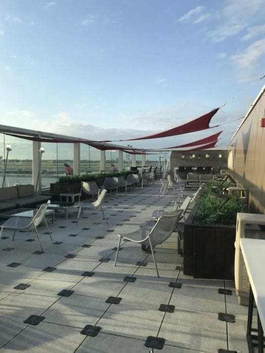 SkyClub JFK Observation Deck