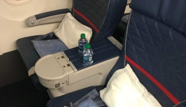 Delta 757 First Class