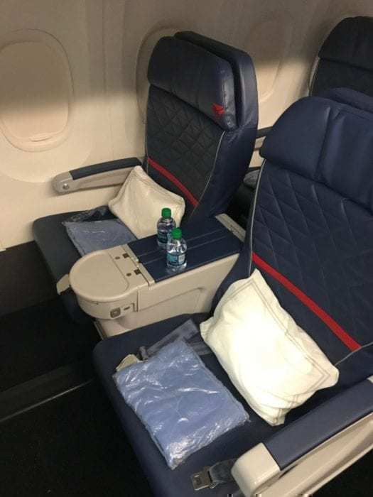 Delta 757 First Class Review - New York To Mexico City