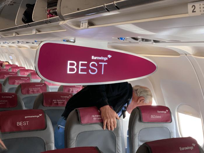 Boarding Eurowings A320