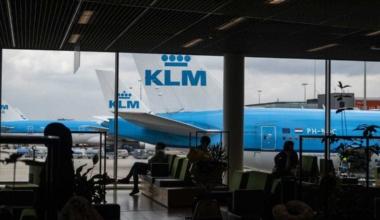Schiphol KLM Planes
