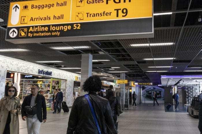 AMS Schiphol Airport