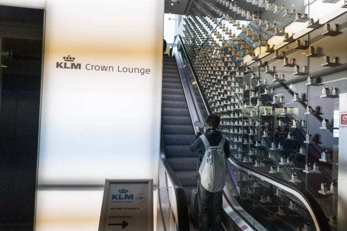AMS Schiphol Airport KLM Crown Lounge