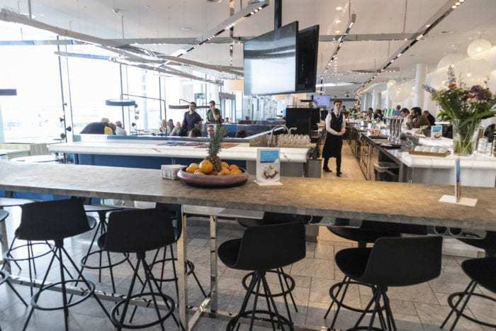 AMS Schiphol Airport KLM Crown Lounge