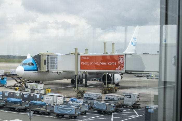 KLM A330 PH-AOA