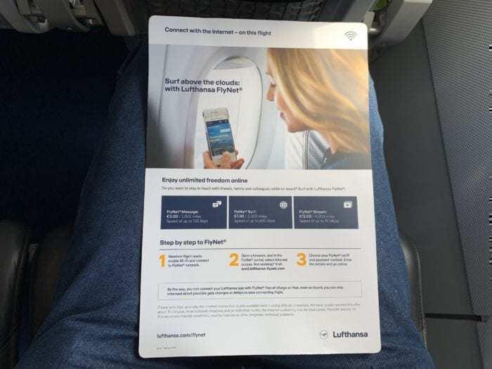 Lufthansa Wifi