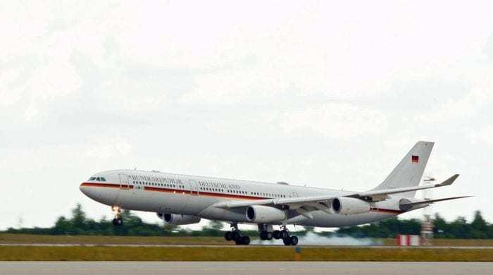 The A340 'Konrad Adenauer'