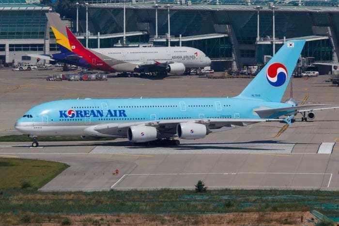 Korean Asiana A380