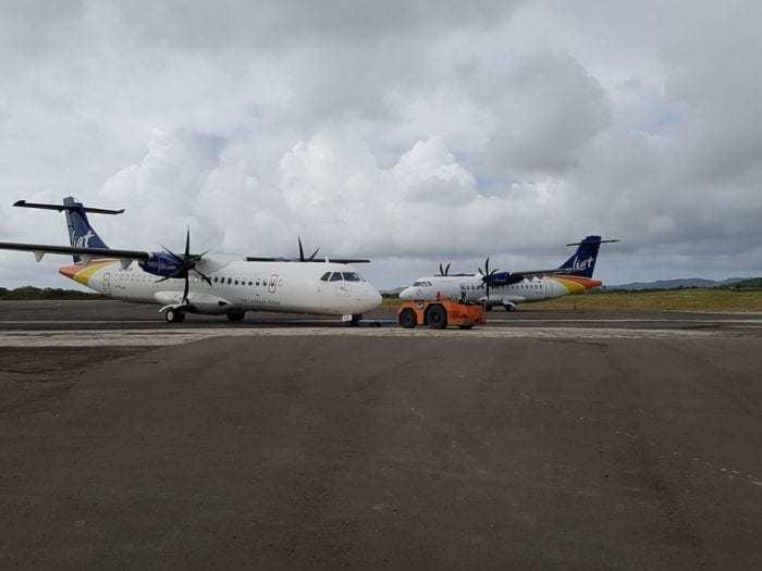 LIAT aircraft