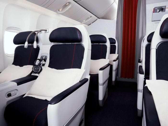 Premium economy on air france