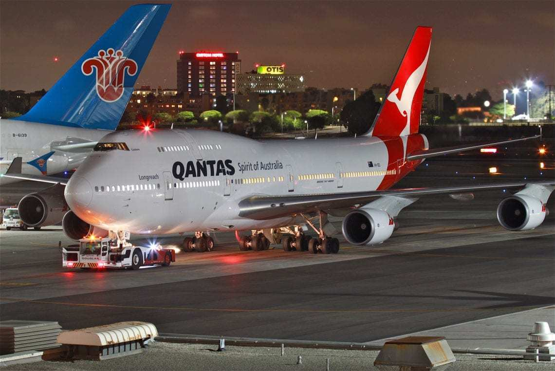 Qantas To End Final Transpacific Boeing 747 Route - Simple