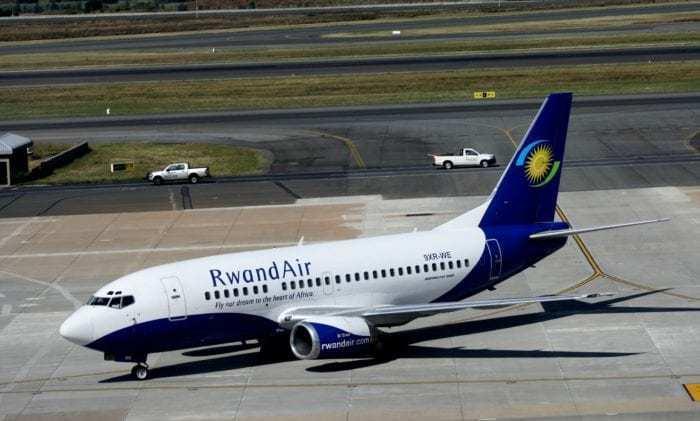 A Rwandair 737