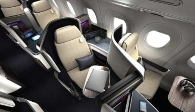 Safran Seats A350 AF Business Class