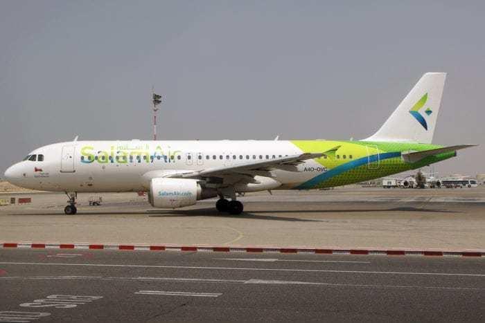 A Salam Air Airbus A320.