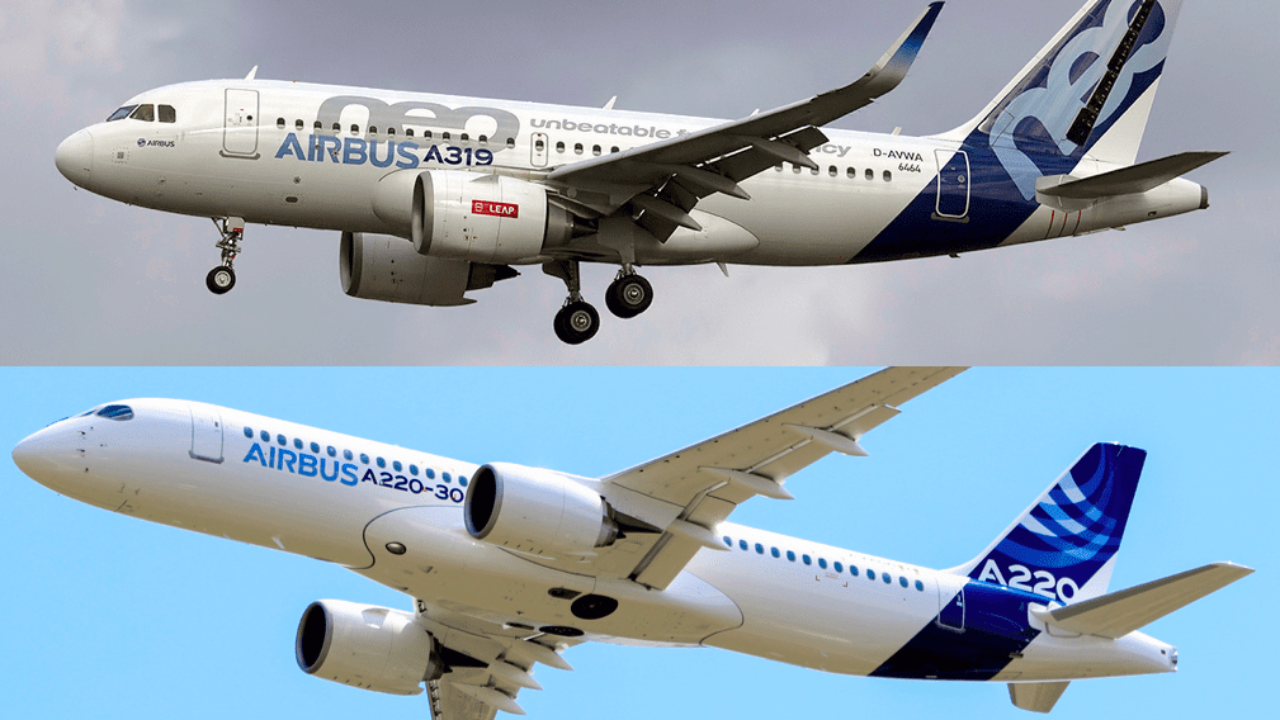 The Airbus A220-300 vs A319neo - What Plane Is Better