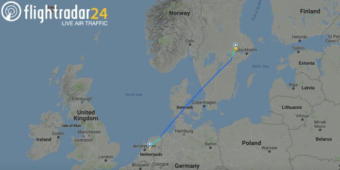 Stockholm to Amsterdam