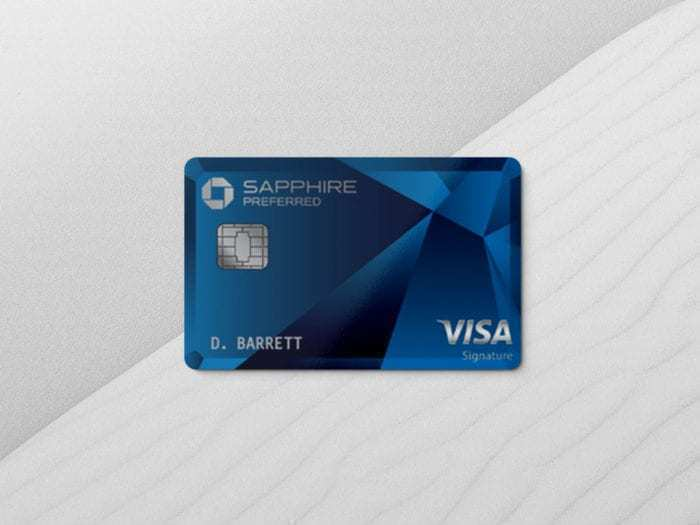 The Chase Sapphire Preferred Card