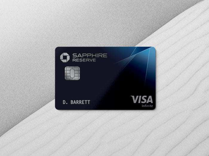 The Chase Sapphire Reserve Card