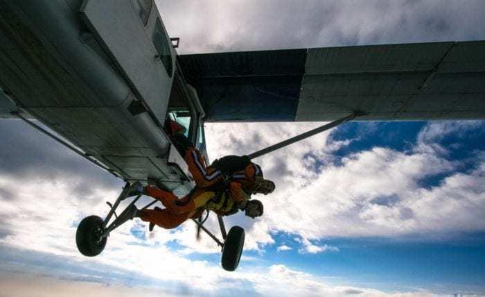 Skydiving Aircraft