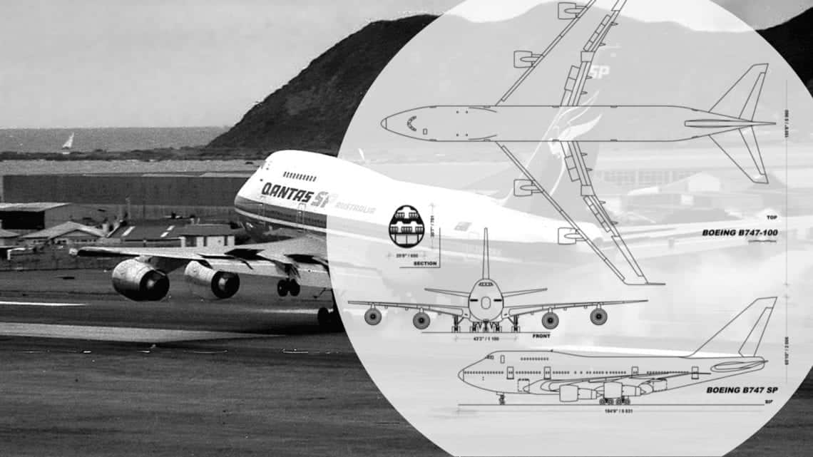 The World's Smallest 747: The Boeing 747SP