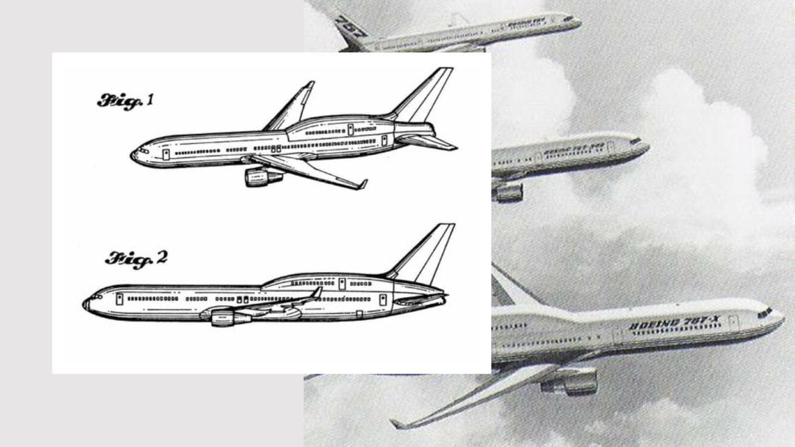 The Boeing 767X - The Inverted 747 Which Was Never Built