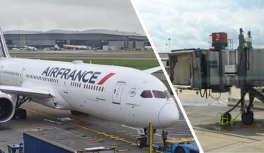 Air France 787 Jet Bridge